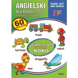 Angielski dla dzieci 24 Pierwsze słówka 3-7 lat Ćwiczenia z kurką Koko