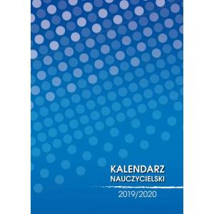 Kalendarz nauczyciela 2019/2020 Kropki