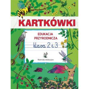 Kartkówki. Edukacja przyrodnicza. Klasa 2 i 3. Materiały edukacyjne