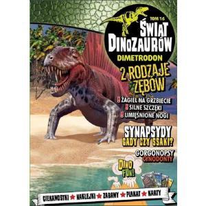 Świat Dinozaurów 16 Dimetrodon