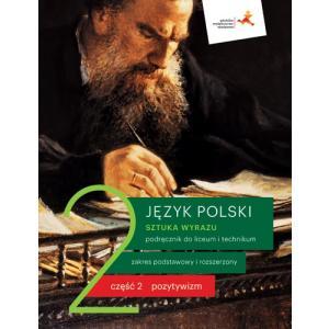 Sztuka wyrazu 2. Język polski. Liceum i technikum. Podręcznik. Część 2