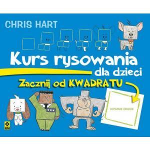 Kurs rysowania dla dzieci. Zacznij od kwadratu