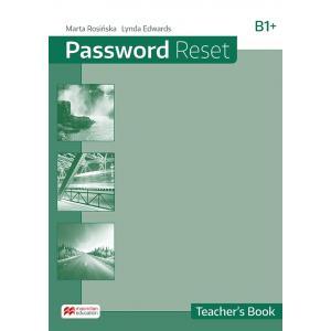 Password Reset B1+ Książka Nauczyciela + CD