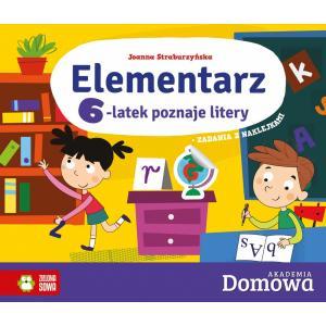 Domowa Akademia. Elementarz 6-latek poznaje litery