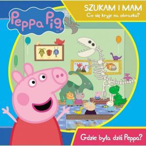 Peppa Pig. Szukam i mam. Gdzie była dziś Peppa?