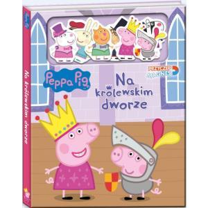 Peppa Pig. Przyczep magnes! Na królewskim dworze. Nr 2