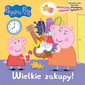 Peppa Pig. Magiczne obrazki. Wielkie zakupy!