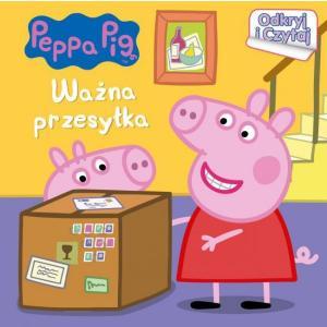 Peppa Pig. Odkryj i czytaj. Ważna przesyłka