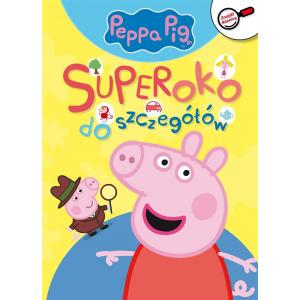 Peppa Pig. Znajdź różnicę. Superoko do szczegołów. Część 1
