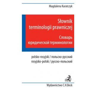 Słownik terminologii prawniczej polsko-rosyjski rosyjsko-polski