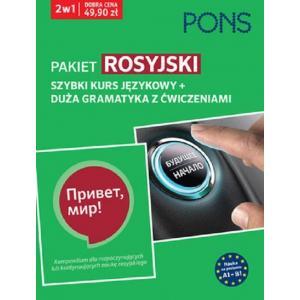 Pakiet Rosyjski. Szybki Kurs Językowy + Duża Gramatyka z Ćwiczeniami