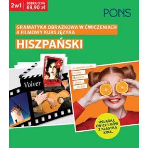 Hiszpański. Gramatyka Obrazkowa w Ćwiczeniach + Filmowy Kurs Języka