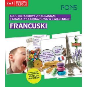 Francuski. Kurs Obrazkowy z Nagraniami + Gramatyka Obrazkowa w Ćwiczeniach