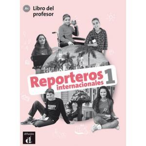 Reporteros Internacional 1. Książka nauczyciela + podręcznik + ćwiczenia + kod online