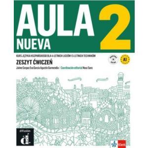 Aula Nueva 2. Zeszyt ćwiczeń + CD