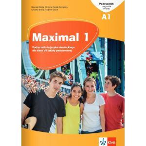 Maximal 1. Język niemiecki. Szkoła podstawowa klasa 7. Podręcznik