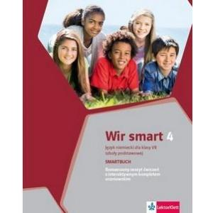 Wir smart 4. Język niemiecki. Szkoła podstawowa klasa 7. Smartbuch. Ćwiczenia wersja rozszerzona