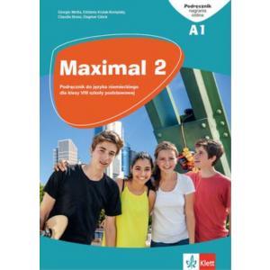 Maximal 2. Język niemiecki. Szkoła podstawowa klasa 8. Podręcznik