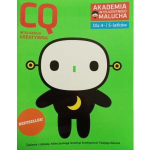 AIM. CQ Inteligencja keatywna dla 4-5 latków z poradami psychologa. Książka z naklejkami