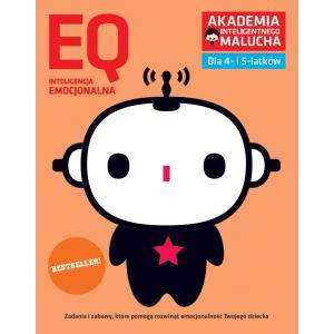 AIM. EQ Inteligencja emocjonalna dla 4-5 latków z poradami psychologa. Książka z naklejkami