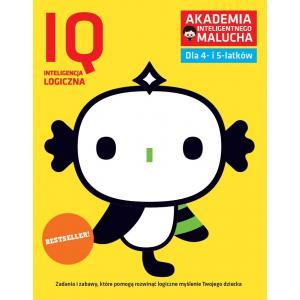 AIM. IQ Inteligencja logiczna dla 4-5 latków z poradami psychologa. Książka z naklejkami