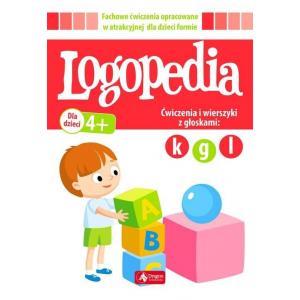 Logopedia. Ćwiczenia i Wierszyki z Głoskami: k g l