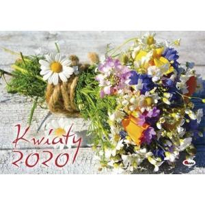 Kalendarz Kwiaty 2020