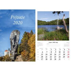 Kalendarz Pejzaże 2020