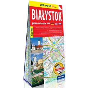 Białystok Plan miasta 1:20 000