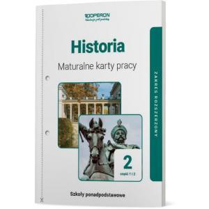 Historia 2. Szkoła ponadpodstawowa. Maturalne karty pracy. Zakres rozszerzony. Część 1