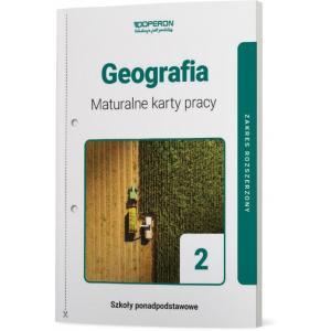 Geografia 2. Szkoła ponadpodstawowa. Maturalne karty pracy. Zakres rozszerzony