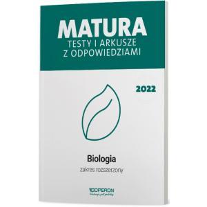 Biologia. Matura 2022. Testy i arkusze. Zakres rozszerzony