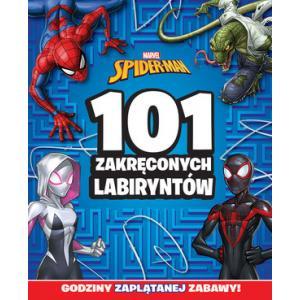 101 zakręconych labiryntów Marvel Spider - Man