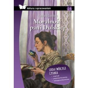 Lektura z opracowaniem.Moralność Pani Dulskiej oprawa miękka