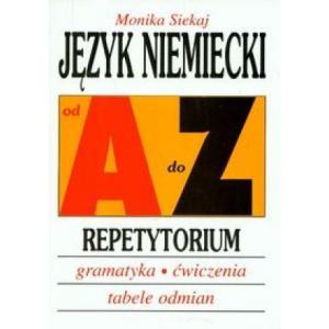 Język Niemiecki. Od A do Z. Repetytorium