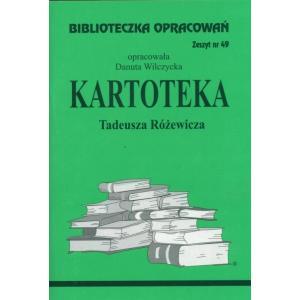 Biblioteczka Opracowań Kartoteka Tadeusza Różewicza