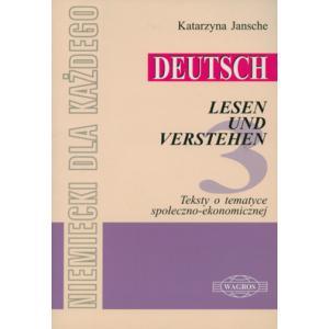 Deutsch Lesen und Verstehen 3