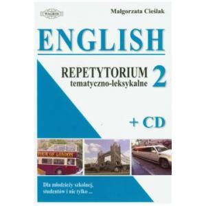 English. Repetytorium tematyczno-leksykalne 2 + CD OOP