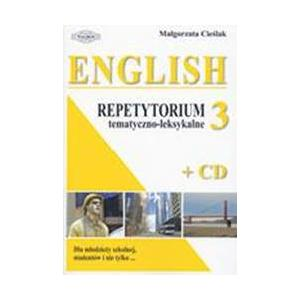 English. Repetytorium tematyczno-leksykalne 3 + CD OOP