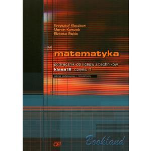 zz Matematyka LO 3 podr cz.1 podst+rozsz Pazdro /stare