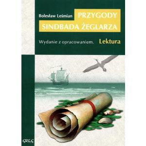 Przygody Sindbada Żeglarza z opracowaniem oprawa miękka wyd. 2010