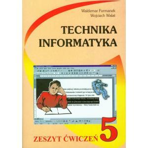 Technika Informatyka 5 Zeszyt Ćwiczeń
