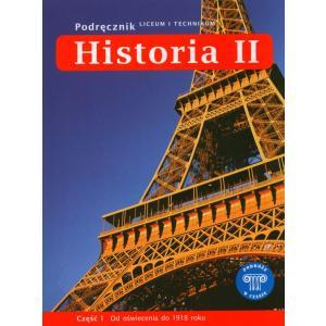 Historia Liceum i Technikum kl. 2 cz. 1 podręcznik