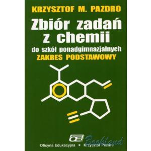 zz Chemia LO 1 Zbiór zadań podst Pazdro