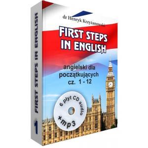 First Steps in English 1 + CD + MP3. Angielski Dla Początkujących. Część 1-12