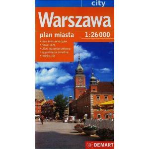 Warszawa. Plan miasta 1:26000