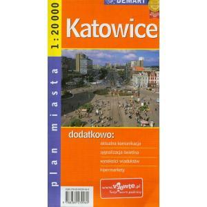 Katowice Plan Miasta 1:20 000