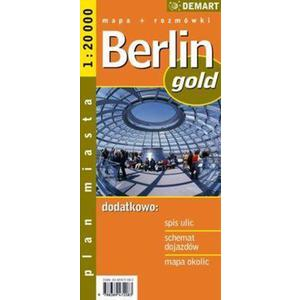 Berlin gold plan miasta 1:20 000
