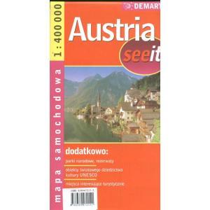 Austria seeit mapa samochodowa