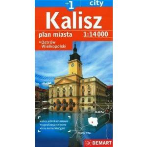 Kalisz plus 1 plan miasta